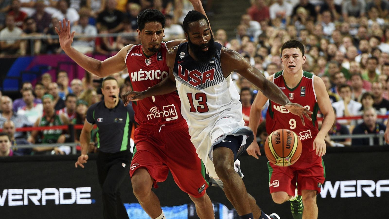 Coupe du monde les etats unis crasent le mexique 86 63 et filent en quart de finale - Coupe du monde etats unis ...