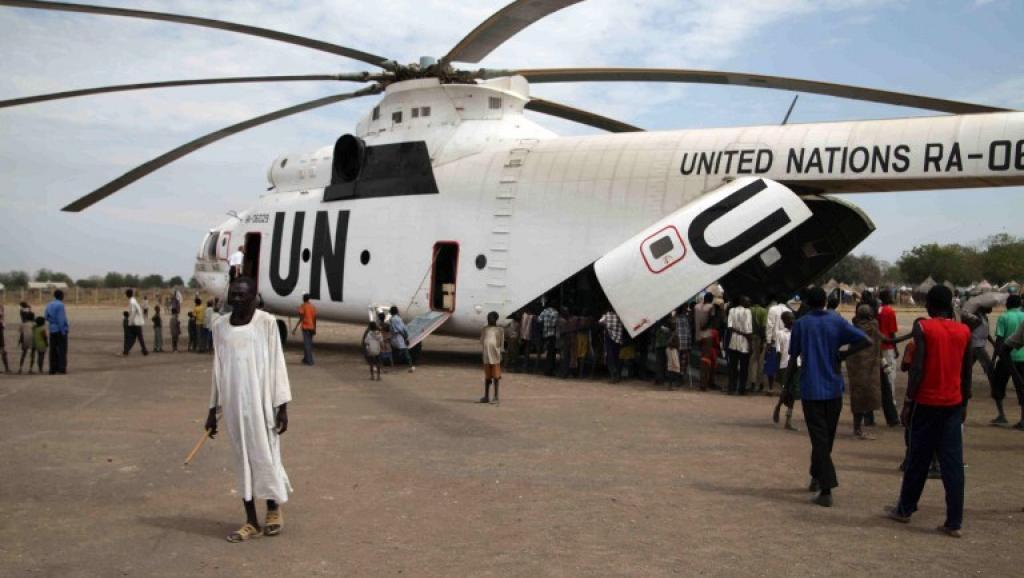 Soudan du Sud: les rebelles accusés d'avoir abattu un hélicoptère de l'ONU