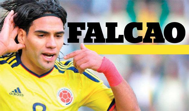 Football - Mercato: Falcao le dit, il a préféré Manchester United au Real Madrid