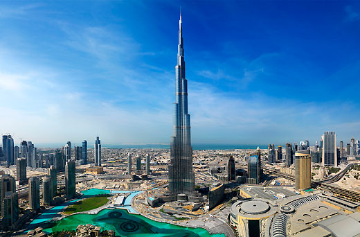 la tour Burj Dubaï