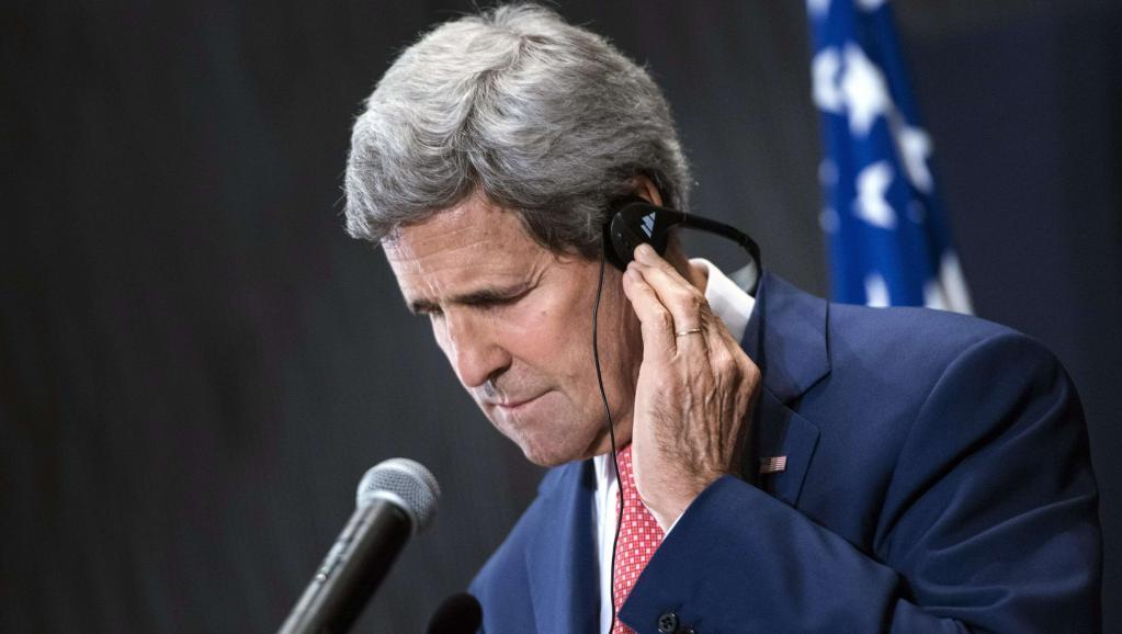 Le secrétaire d'Etat américain John Kerry en Egypte, le 13 septembre 2014. REUTERS/Brendan Smialowski