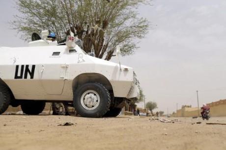 Mali: un soldat tchadien de l'ONU tué et quatre blessés par une mine