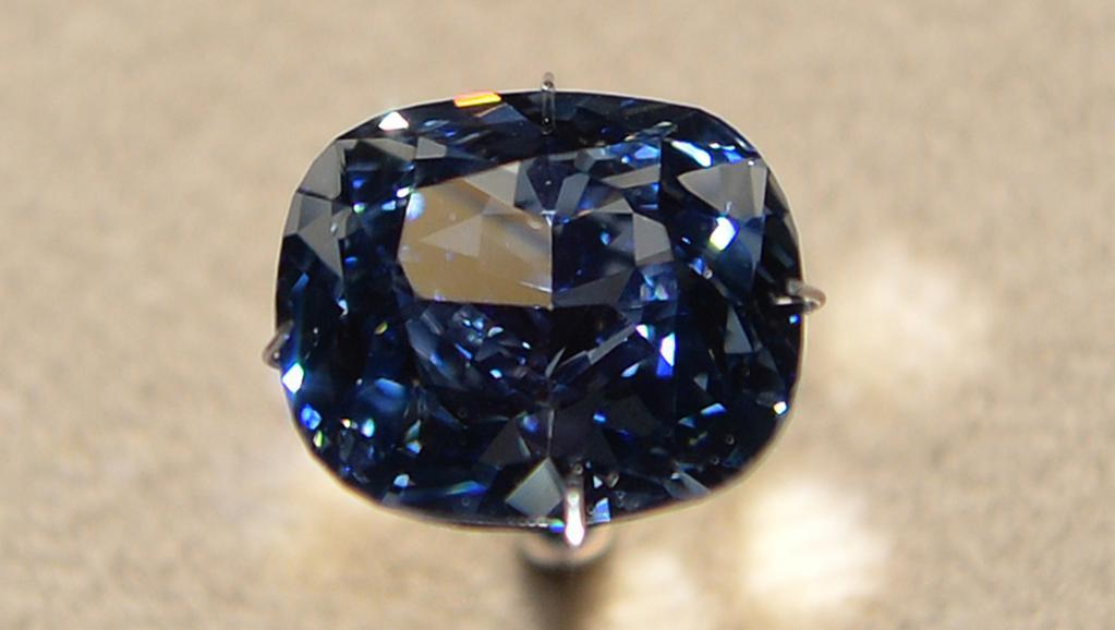 Diamant «Blue Moon», la dernière merveille des mineurs sud-africains