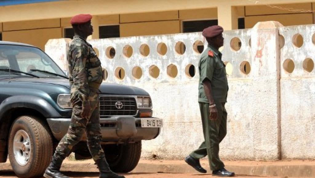 L'armée de Guinée-Bissau a un nouveau chef : le général Biague Nantam. AFP PHOTO / SEYLLOU