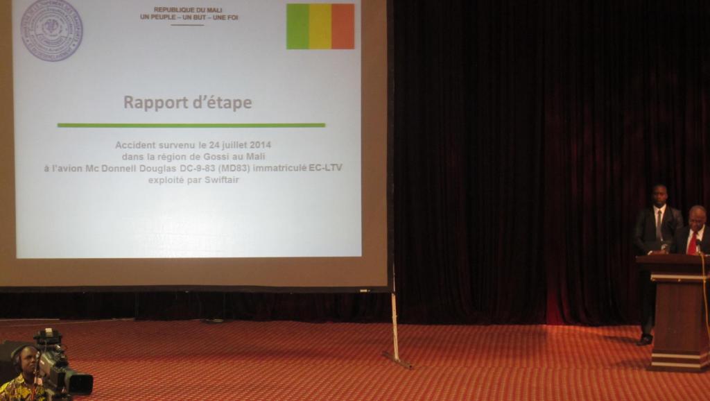 Présentation du rapport d'étape à Bamako, samedi 20 septembre 2014.