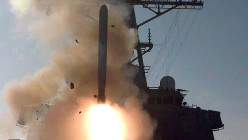 Les destroyers américains déployés en Méditerranée sont armés de missiles Tomahawk, capables d'atteindre le sol syrien. US Navy