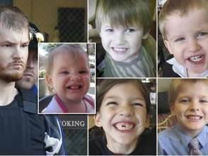 Un  père tue ses cinq enfants, persuadé qu'ils veulent le transformer en pâté pour chiens