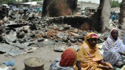 Des refugiées nigérianes.