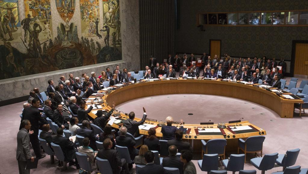 Le Conseil de sécurité de l'ONU vote la résolution, le 24 septembre 2014. REUTERS/Adrees Latif