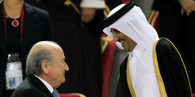 """Mondial - L'émir du Qatar promet """"l'une des plus belles Coupes du monde"""""""