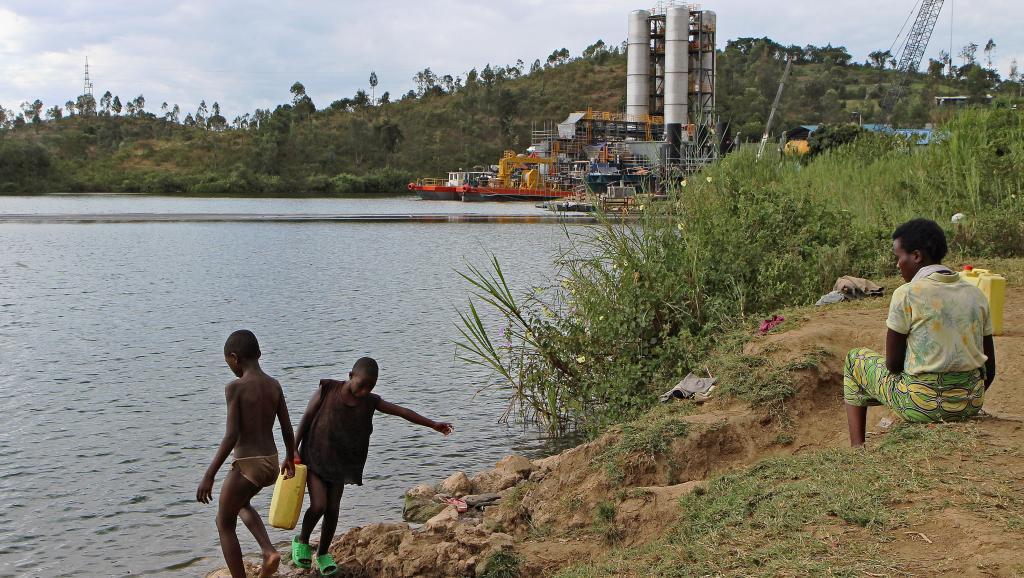 Rubavu, au Rwanda, face à la RDC, là où Gustave Makonene, de l'ONG Transparency International, a été tué l'an passé. Deux militaires versés dans le trafic de minerais sont suspectés. AFP PHOTO / STEPHANIE AGLIETTI