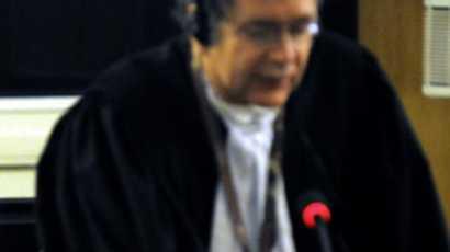 (Photo d'archives): Un juge du TPIR lors d'une audience à Arusha