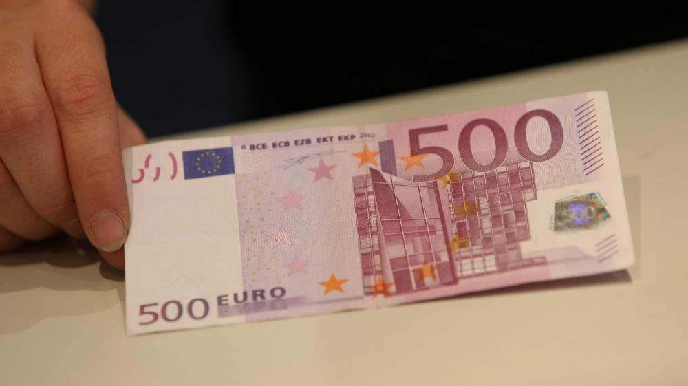 Vingt heures de garde à vue pour avoir utilisé un vrai billet de 500 euros