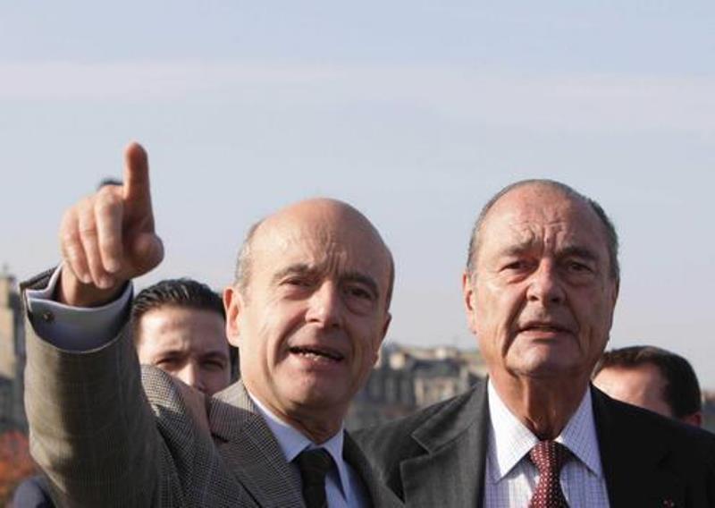 France: Jacques Chirac soutient Alain Juppé pour la présidentielle de 2017
