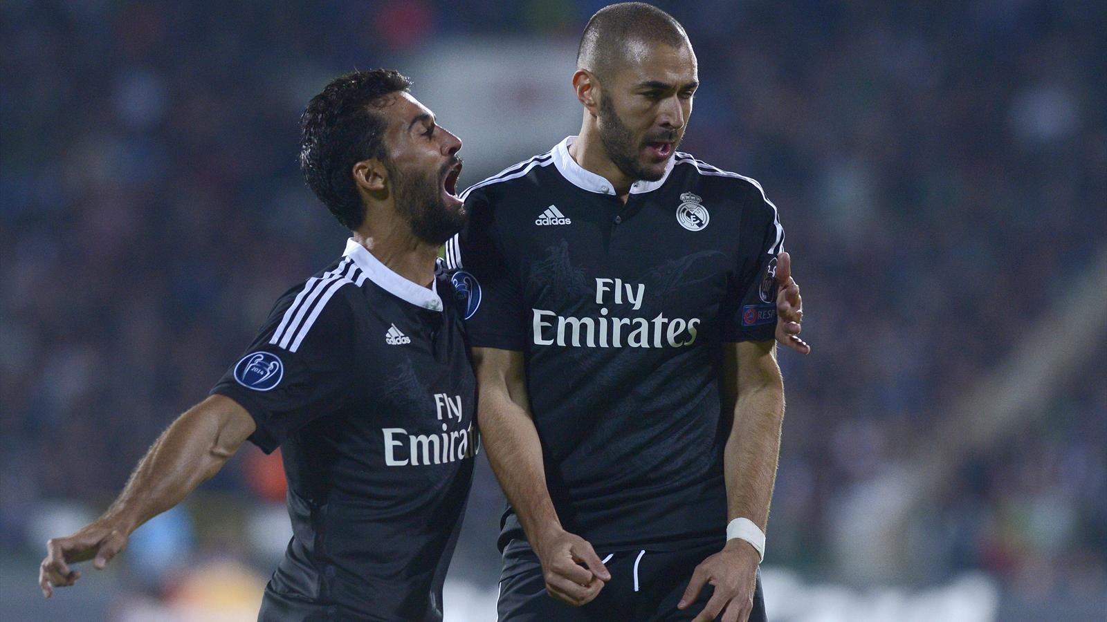 Ligue des champions - 2e journée : Le Real souffre mais s'impose à Ludogorets grâce à Karim Benzema