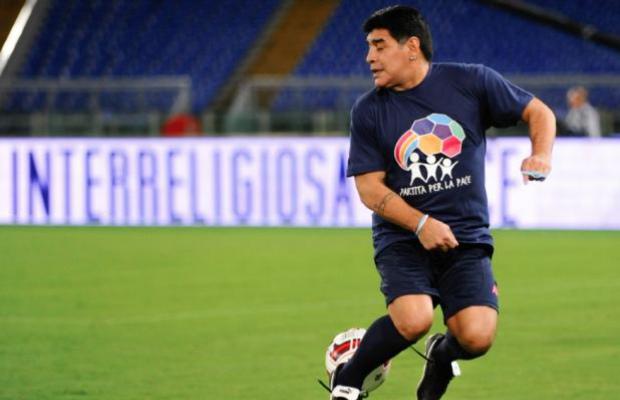 Maradona, futur coach de la Palestine ?