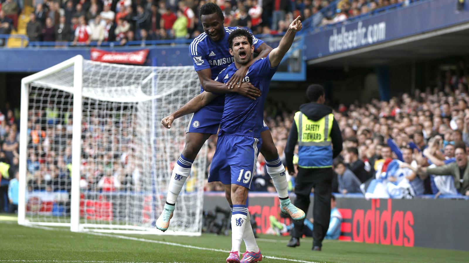 Chelsea - Arsenal (2-0): Les Blues de Mourinho ont plus que jamais la main sur les Gunners et Wenger