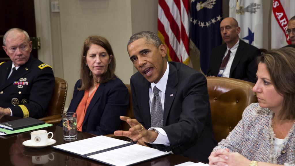 Ebola: réunion de crise à la Maison Blanche