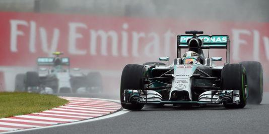 Formule 1 : Victoire d'Hamilton au grand prix du Japon
