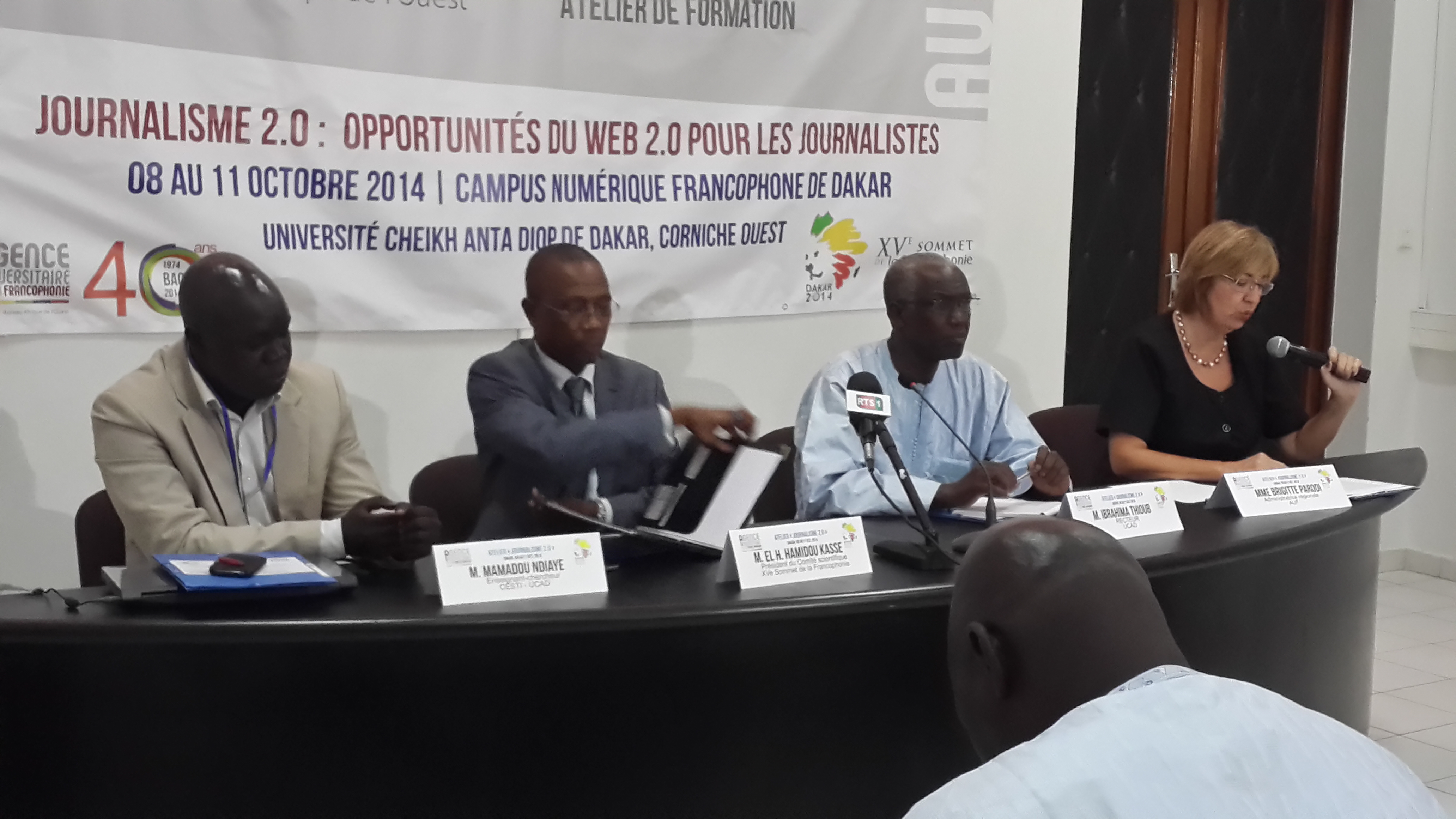 Journalisme 2.0: la presse en route vers le XVe sommet de la Francophonie