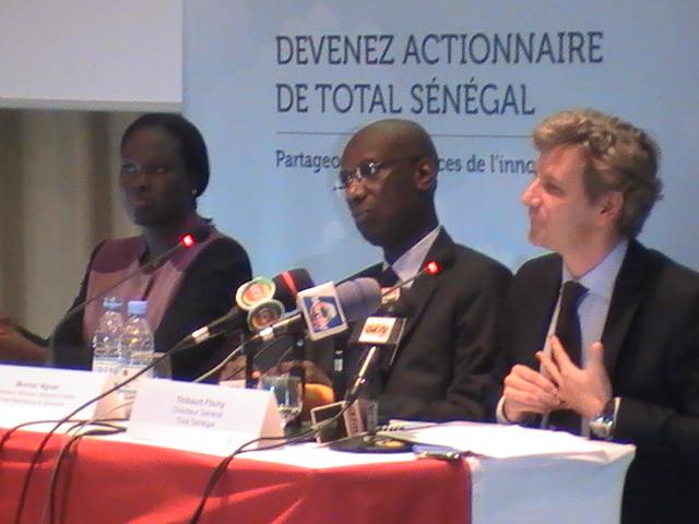 Le Groupe Total Sénégal entre en bourse