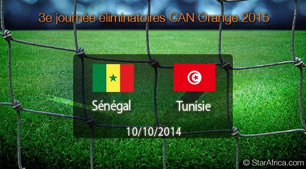 """Qualif CAN 2015 Sénégal 0-0 Tunisie: les """"Aigles"""" échappent aux """"Lions"""" en attendant Monastir"""