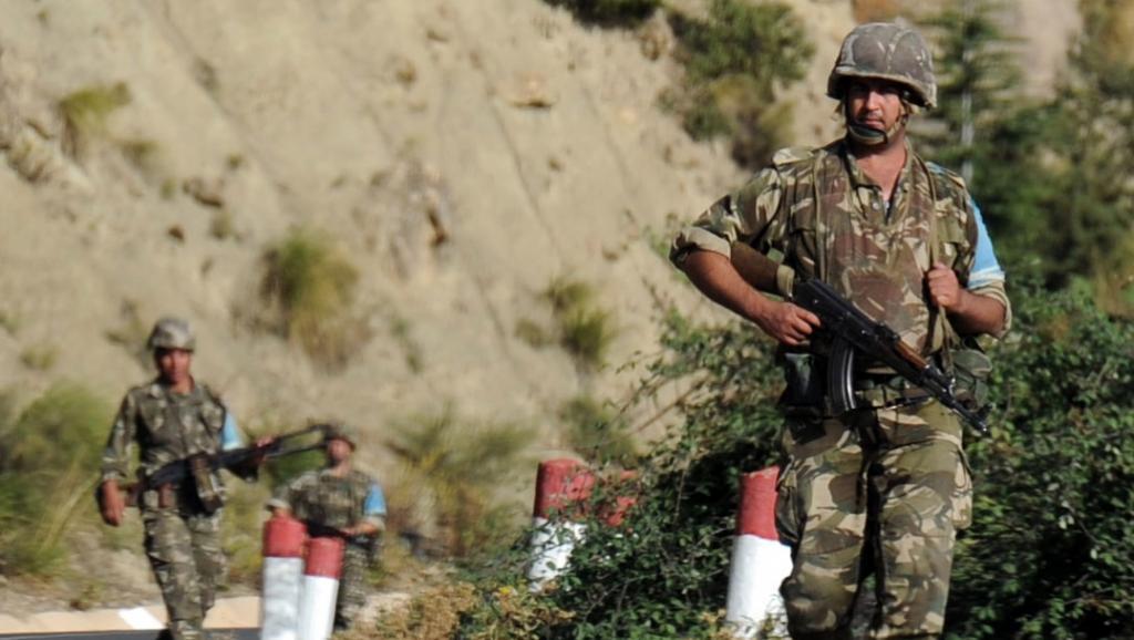 Les recherches de l'armée algérienne se poursuivent pour retrouver la dépouille de l'otage français assassiné, Hervé Gourdel, le 9 octobre près du village d'Ait-Ouabane. AFP PHOTO / FAROUK BATICHE