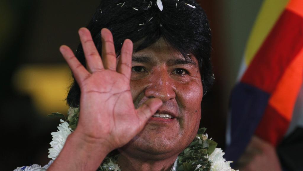 Le président bolivien Evo Morales le 4 juillet 2013. REUTERS/David Mercado/Files