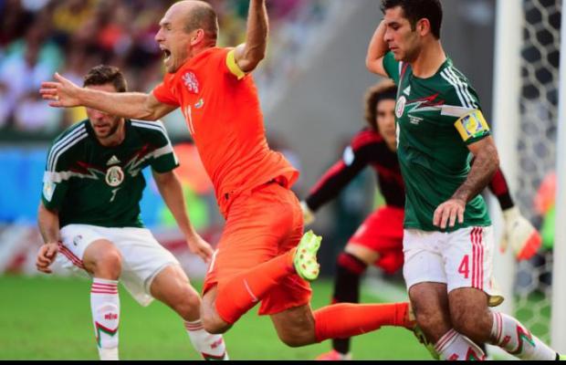 Le Mexique face au fantôme de Robben