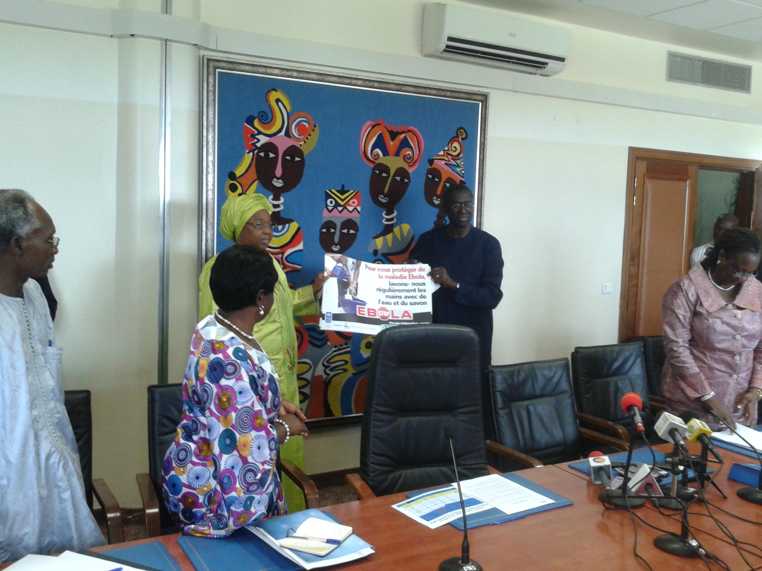 """Riposte à Ebola- Abdoulaye Mar Dieye- Représentant du PNUD: """" On va continuer à appuyer le Sénégal"""""""