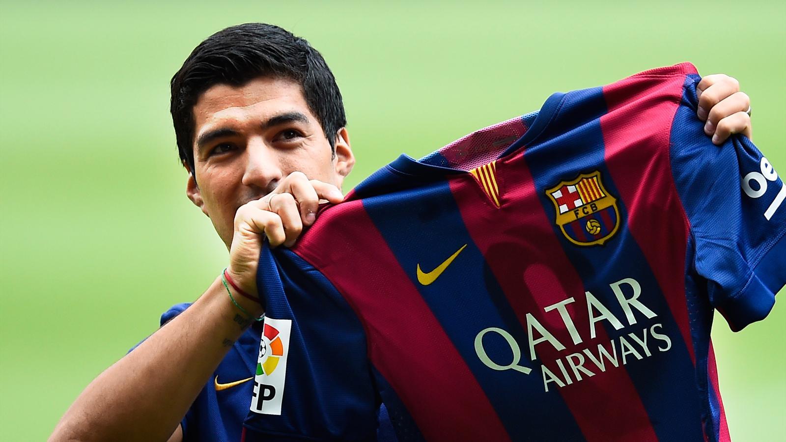 Barça : Suarez en a pleuré...
