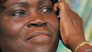 L'ex-Première dame de Côte d'Ivoire Simone Gbagbo