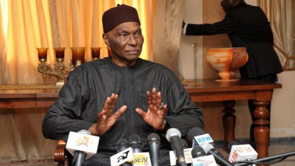 L'ancien président sénégalais Abdoulaye Wade. AFP PHOTO / SEYLLOU