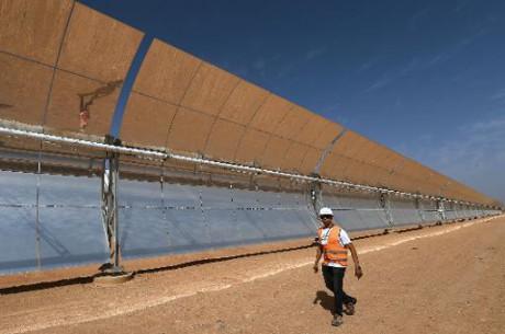 La première centrale solaire du Maroc opérationnelle en 2015