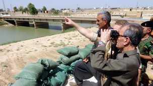 les forces kurdes et les troupes irakiennes ont repris des localités que détenaient l'Etat Islamique