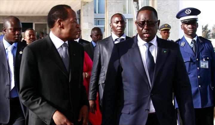 Les conseils de Macky Sall à Blaise Compaoré, « il est encore temps ... »