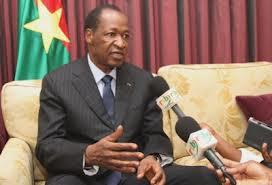 """Blaise Compaoré au peuple Burkinabé: """"De grâce restez unis"""""""