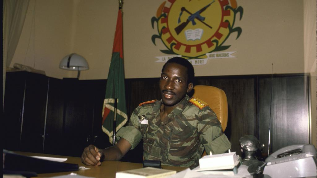 Image d'archive de Thomas Sankara. William F. Campbell/Time & Life Pictures/Getty Images