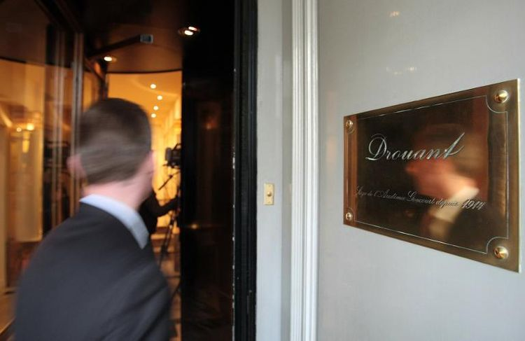 Drouant, à Paris, où sont délivrés les prix Renaudot et Goncourt. (Photo Jacques Demarthon. AFP)