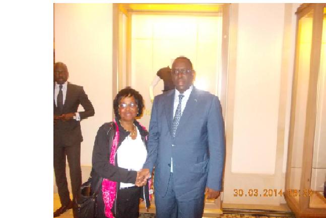 Dr. Pierrette Herzberger-Fofana, lauréate du  Prix de la Femme Africaine 2014