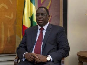 Le chef de l'Etat sénégalais, Macky Sall. REUTERS/Joe Penney