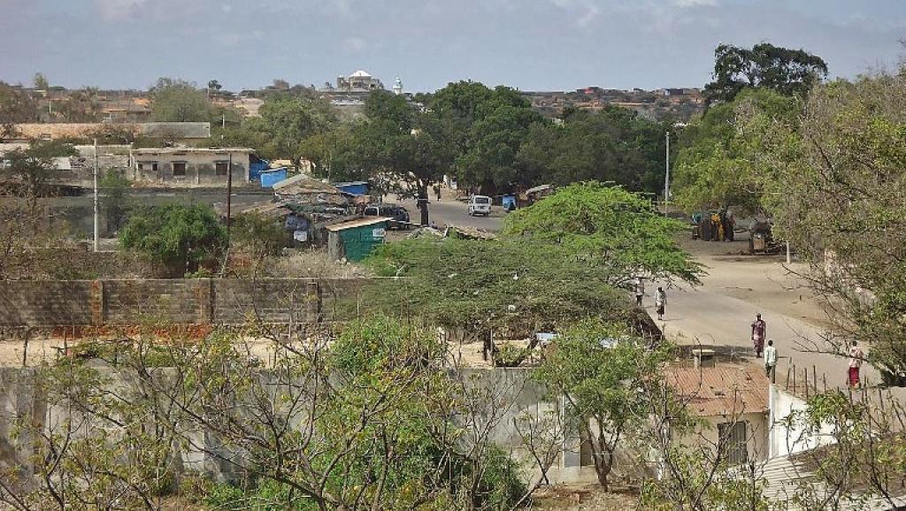 Kudhaa, située à 45 kilomètres au sud-ouest de Kismayo (ici à l'image). AFP PHOTO/STRINGER