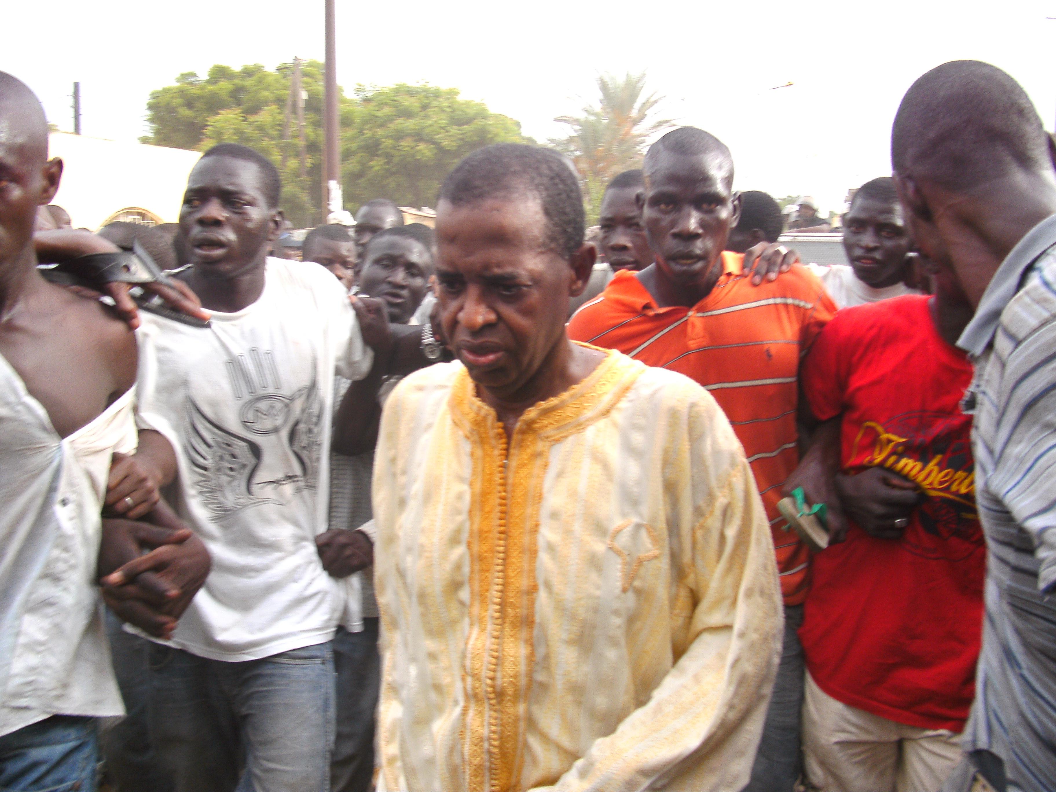 Sidy Lamine Niasse au meeting de l'opposition « J'y serais avec une grosse pierre »