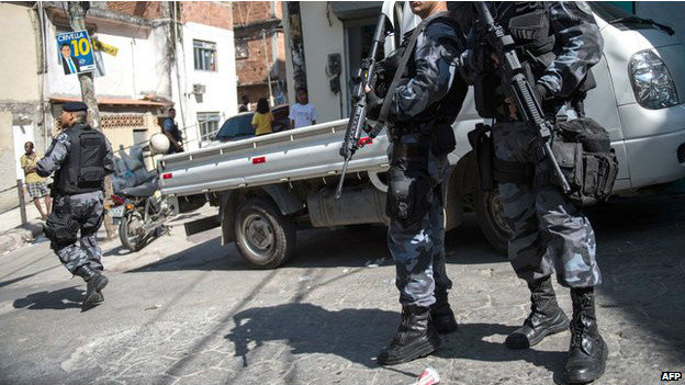 Au Brésil, six personnes meurent chaque jour par la police.