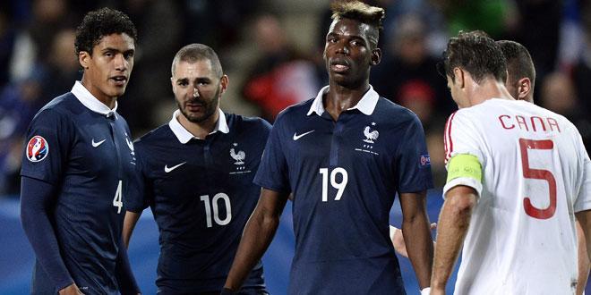 Equipe de France - Les Bleus, trop courts pour chercher la victoire