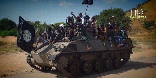 Des membres de Boko Haram dans une vidéo envoyée aux médias le 9 novembre. | AFP/HO
