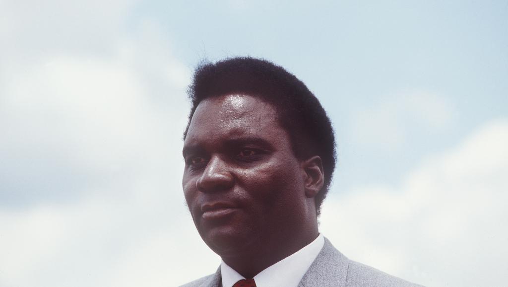 L'attentat contre l'avion du président Juvénal Habyarimana (ici en 1982) marque le début du génocide rwandais.