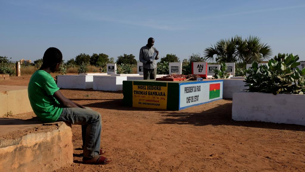 La tombe de Thomas Sankara au cimetière de Dagnoen de Ouagadougou, 22 novembre.