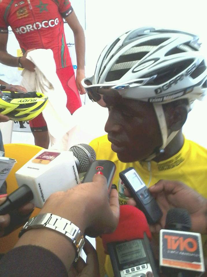 Cyclisme: Valens Ndayisenga s'offre le Tour du Rwanda