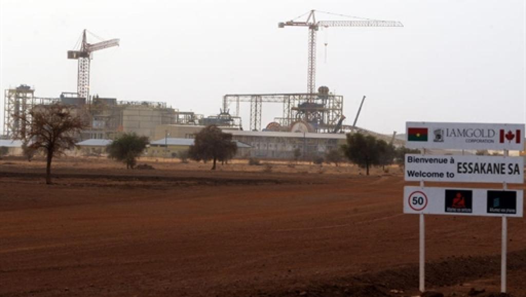 La mine d'or d'Essakane, au Burkina Faso. AFP / Issouf Sanogo